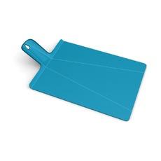 Доска разделочная Chop-2-pot Plus, большая, голубая