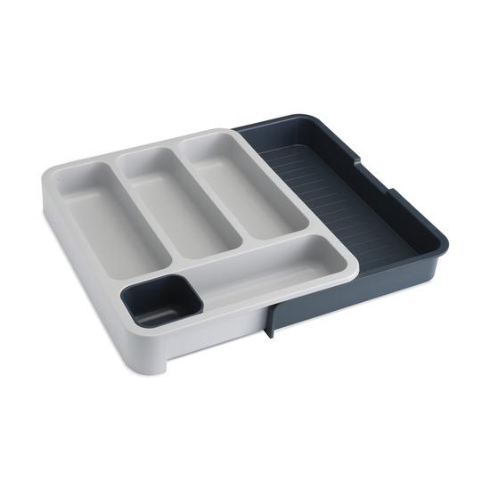 Органайзер для столовых приборов Drawerstore, серый