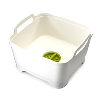 Контейнер для мытья посуды Wash & Drain, белый