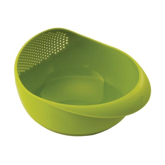 Миска-дуршлаг 2-в-1 Prep & Serve, малая, зеленая