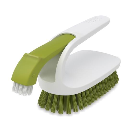 Щетка для уборки двойная Twin, зеленая
