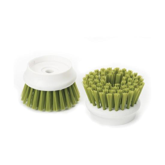 Насадки сменные для щетки Palm Scrub, 2 шт, зеленые