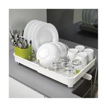 Сушилка для посуды раздвижная Extend, белая