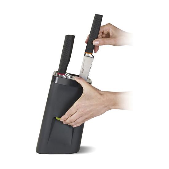 Набор ножей в подставке с автоблокировкой Lockblock
