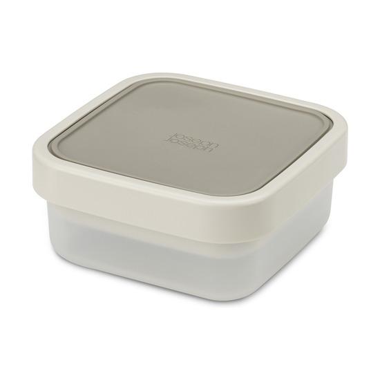 Ланч-бокс для салатов компактный GoEat, серый