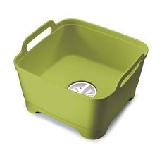 Контейнер для мытья посуды Wash & Drain, зеленый