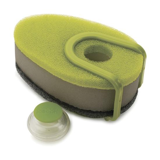 Набор губок с капсулой Soapy Sponge, 3 шт, зелёный