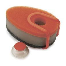 Набор губок с капсулой Soapy Sponge, 3 шт, оранжевый