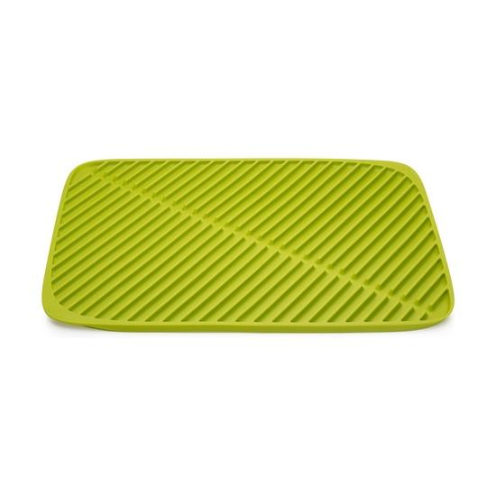Коврик для сушки посуды Flume, большой, зеленый