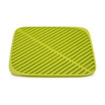 Коврик для сушки посуды Flume, маленький, зеленый
