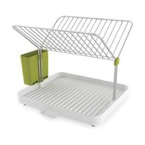 Сушилка для посуды со сливом Y-rack, бело-зеленый