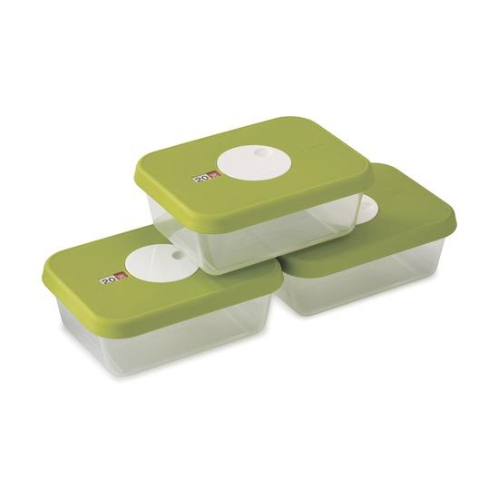 Набор контейнеров для хранения продуктов Dial, 3 шт.