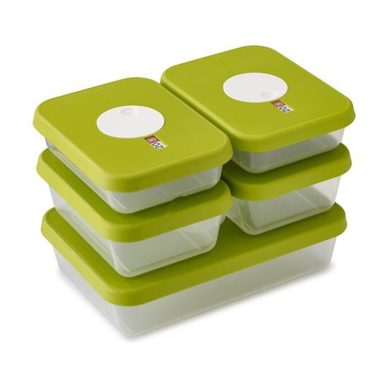 Набор контейнеров для хранения продуктов Dial, 5 шт.