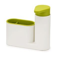 Органайзер для раковины Sinkbase, бело-зеленый