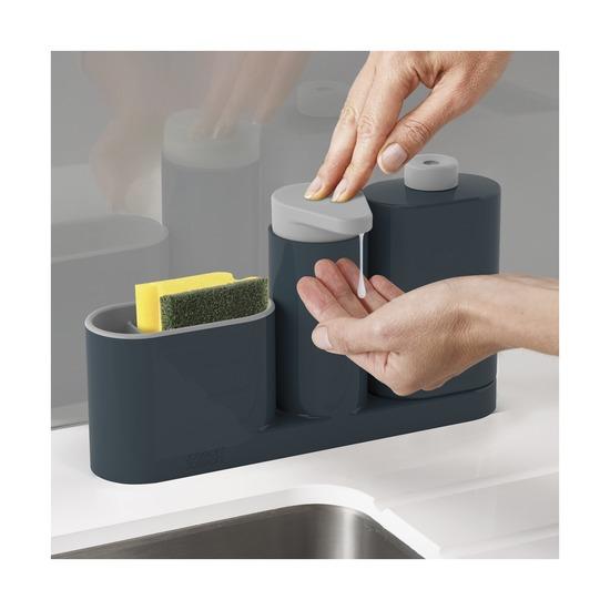 Органайзер для раковины Sinkbase Plus, серый