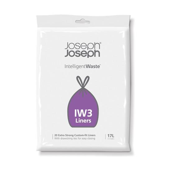 Пакеты для мусора IW3, 17 л, 20 шт.