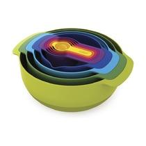Набор мисок Nest 9 Plus, разноцветный