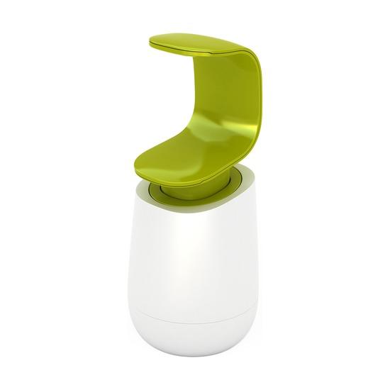 Диспенсер для мыла C-pump, бело-зеленый