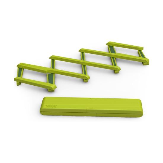 Подставка под горячее раскладная Stretch, зеленая