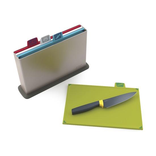 Набор разделочных досок Index, нож в подарок