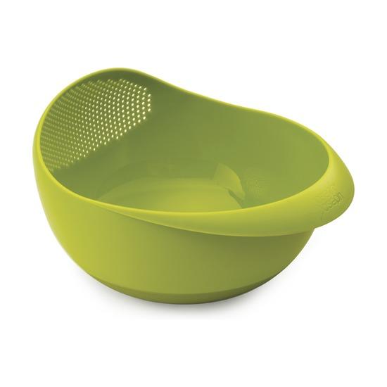 Миска-дуршлаг 2-в-1 Prep & Serve, большая, зеленая