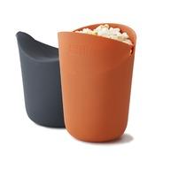 Набор стаканов для приготовления попкорна в СВЧ M-Cuisine