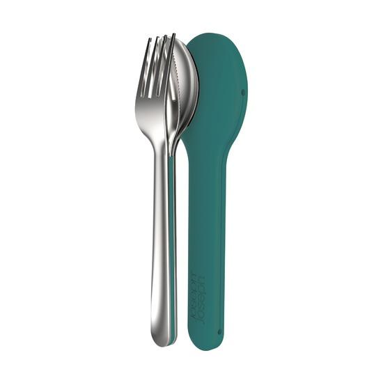 Набор столовых приборов GoEat Cutlery Set, изумрудный
