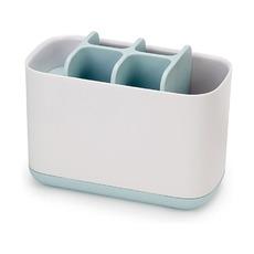 Органайзер для зубных щеток EasyStore, большой, бело-голубой