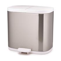 Контейнер для мусора Split для ванной комнаты нержавеющая сталь