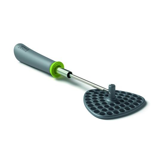 Толкушка со складной ручкой Delta серо-зелёная