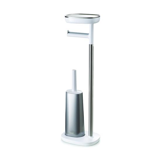 Набор: держатель для туалетной бумаги с подносом EasyStore + ёршик для унитаза Flex