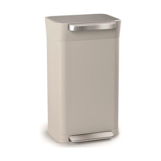Контейнер для мусора с прессом Titan, 30 л, серый