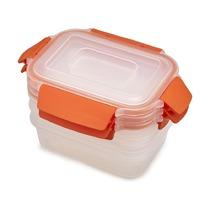 Набор из 3 контейнеров Nest Lock, 540 мл, оранжевый