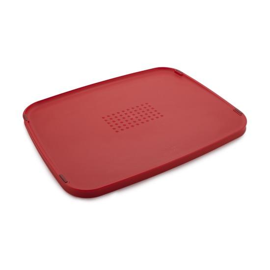 Доска разделочная Duo Multi-function, двухсторонняя, красная