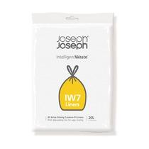 Пакеты для мусора IW7 экстра прочные, 20 л, 20 шт