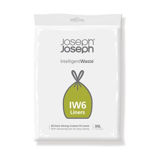 Пакеты для мусора IW6 экстра прочные, 30 л, 20 шт