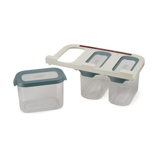 Набор из 3 подвесных контейнеров для хранения CupboardStore, 1.3 л