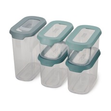 Набор из 5 контейнеров для хранения CupboardStore, опал
