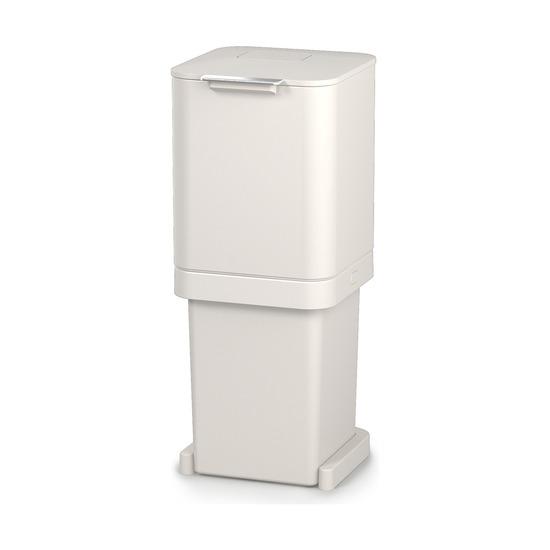Контейнер для мусора с двумя баками Totem Pop, 40 л, белый