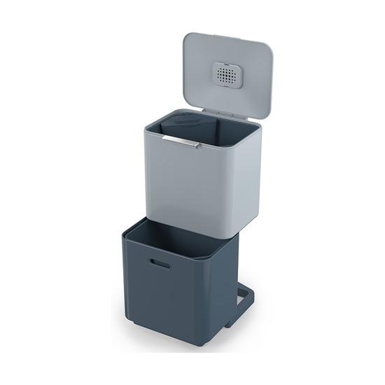 Контейнер для мусора с двумя баками Totem Max Sky, 60 л