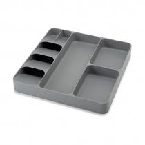 Органайзер для столовых приборов и кухонной утвари Drawer Store, серый