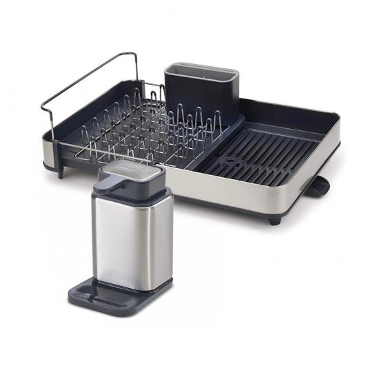 Диспенсер для мыла Surface и сушилка для посуды Extend Steel