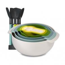 Набор кухонных инструментов Elevate и набор мисок Nest 9 Plus