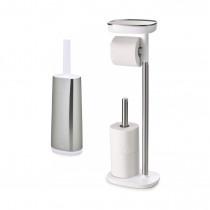 Держатель для туалетной бумаги EasyStore и ершик для унитаза Flex